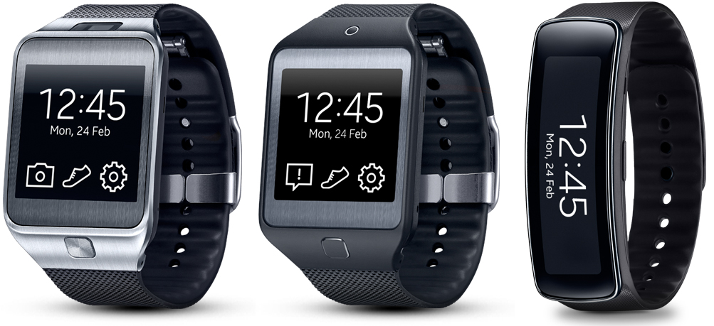 Samsung Gear 2, Neo and Fit