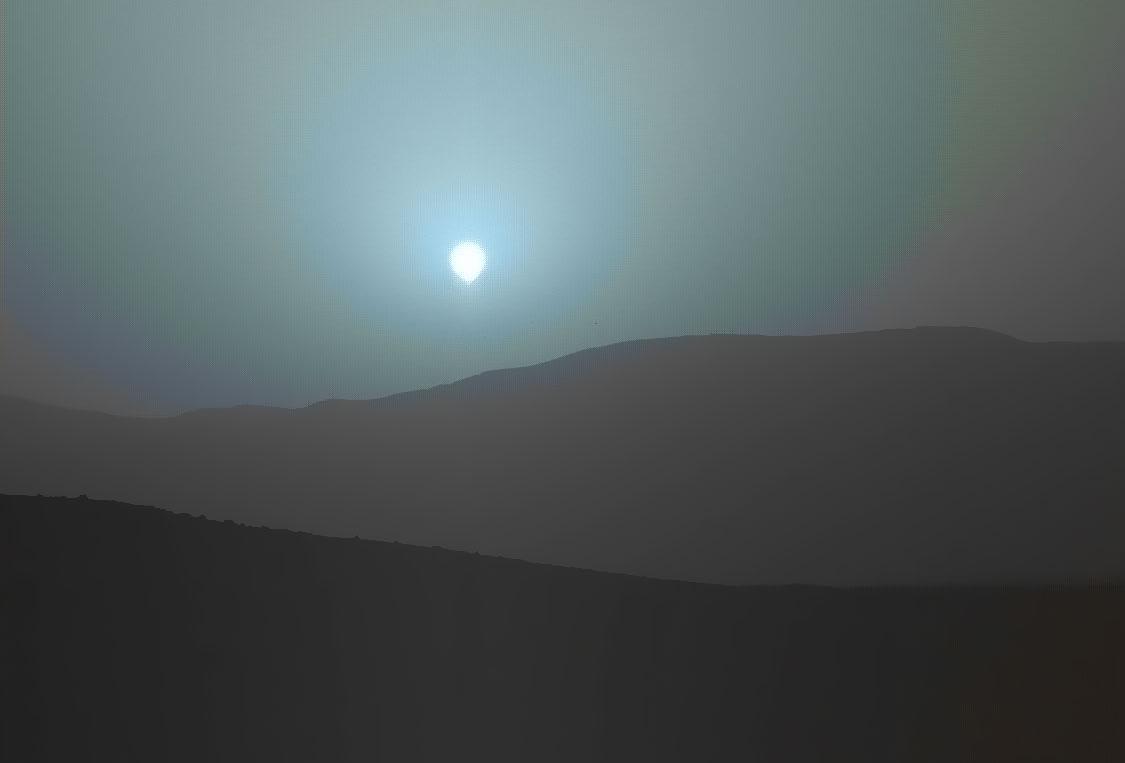 Ο κόκκινος πλανήτης που γίνεται μπλε!